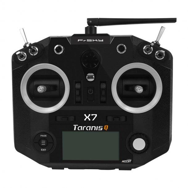 Taranis Q X7, Sort sender. Husk at bestille batteri og lader.