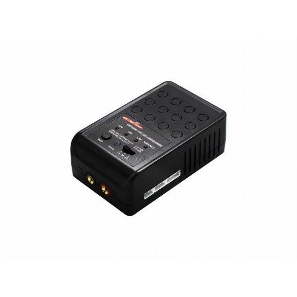 1 kanals AC, 1x30W. lader/balancer for 230V