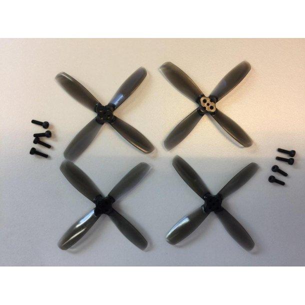 RotorX 2,5 x 3,5 propeller, 4 stk. 4-bladet
