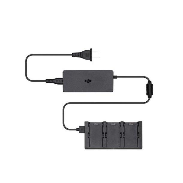 DJI Spark batteri lader til 3 batterier