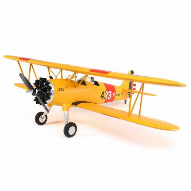 E-Flite PT-17, 1,1meter BNF Basic. BESTILLINGSVARE.