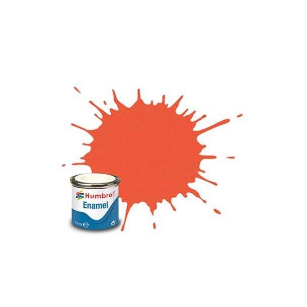 Humbrol Enamel maling, Satin red
