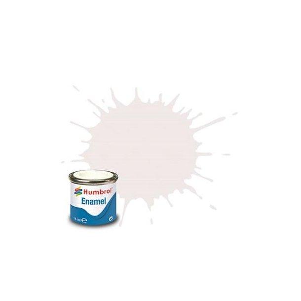 Humbrol Enamel maling, Satin white