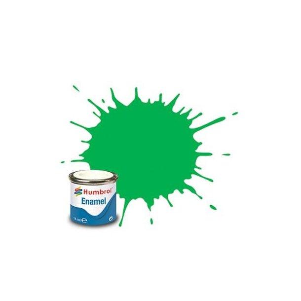 Humbrol Enamel maling, Gloss fluores. signal grøn