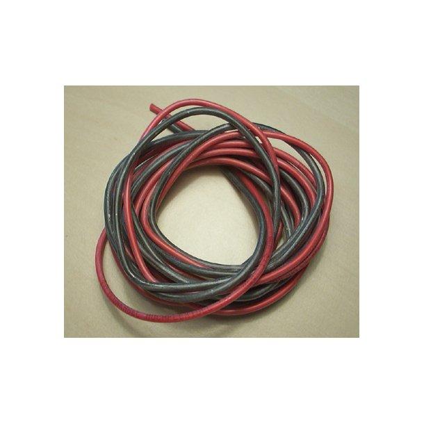 Silicone ledning