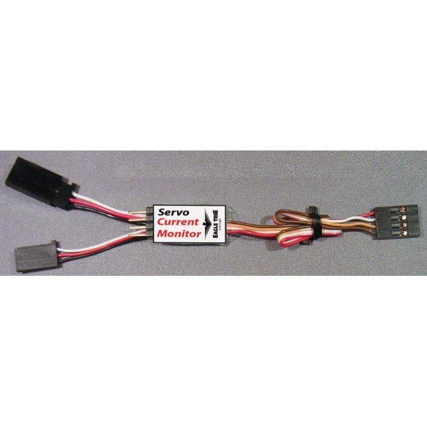 Sensor servostrøm