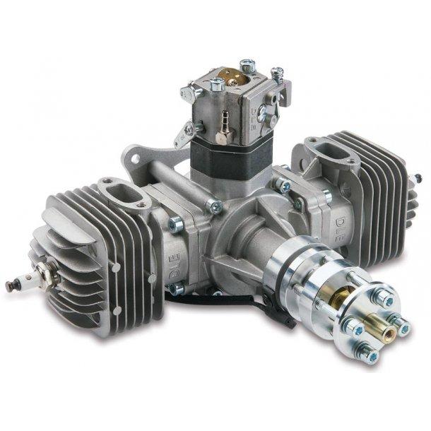 DLE 60 cc 2-cyl. Boxer Bensinmotor.