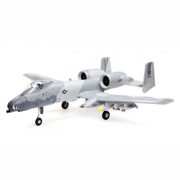A-10 Thunderbolt II 64mm EDF BNF Basic med AS3X og SAFE Select. BESTILLINGSVARE.
