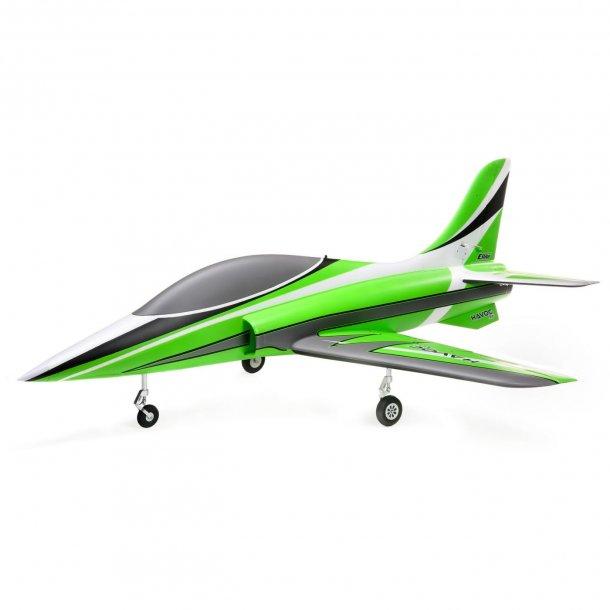 E-Flite HAVOC Xe 80mm EDF Sport Jet BNF Basic, med AS3X og SAFE Select.