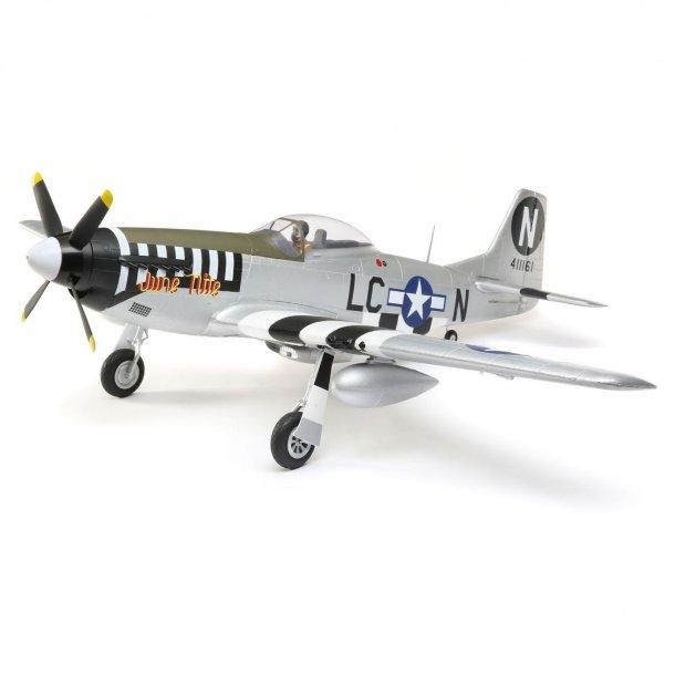 E-flite P-51D Mustang 1,2 meter PNP.