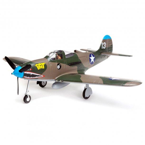 E-Flite P-39 Airacobra 1,2 meter BNF Basic. BESTIL FOR LEVERING I MAJ.