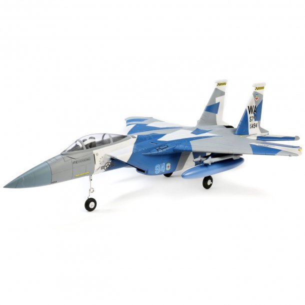 E-Flite F-15 Eagle 64mm EDF BNF med AS3X og SAFE Select.