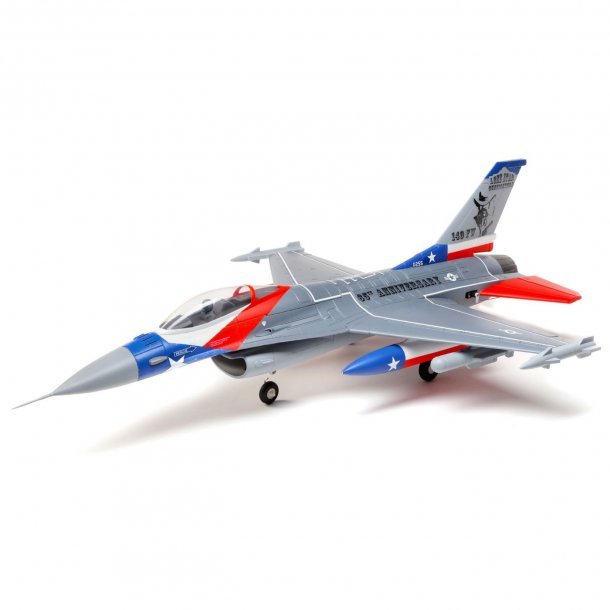E-Flite F-16 Falcon 64mm EDF BNF med AS3X & SAFE Select.