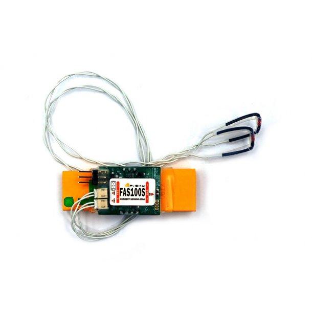 100 Ampere strømmåler sensor med XT90 stik fra FrSKY, S-Port.