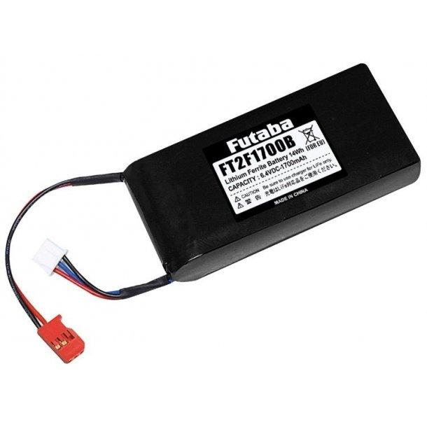 Sender batteri 1700mAh LiFe til Futaba 14SG, 16SZ med flere.