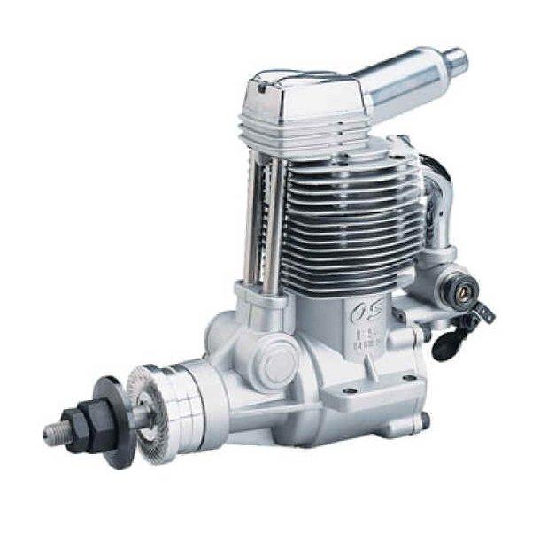 OS FS 120S-E 4-takt Metanolmotor, 19,96ccm.