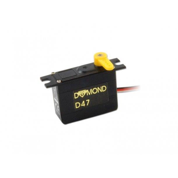 Dymond D47 Mikro servo.