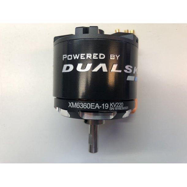 Dualsky XM6360EA-19 V3, 220KV børsteløs motor.