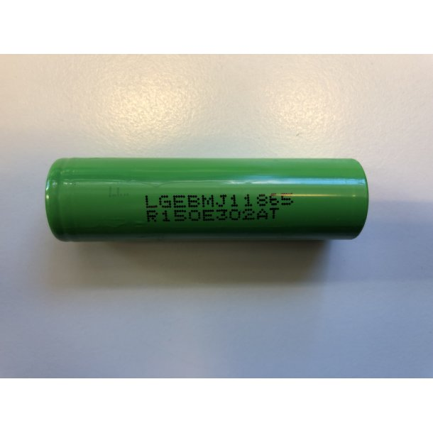 Panasonic 18650 Li-Ion-3500mAh batteri.