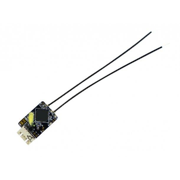 R-XSR modtager til FrSky sendere, 8/16 kanaler.