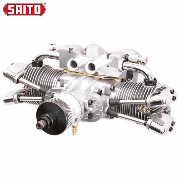 Saito FA-182TD 30cc 4-takt bokser Metanolmotor.