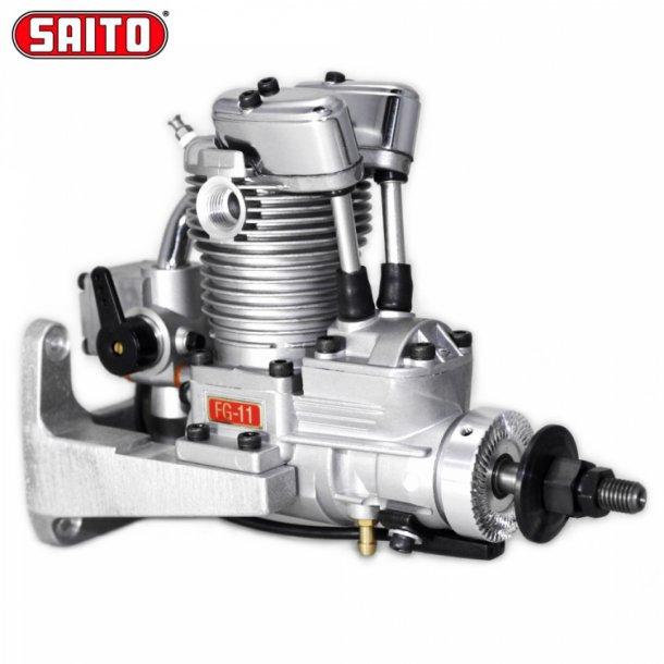 Saito FG-11A 11cc 4-takt Bensinmotor.