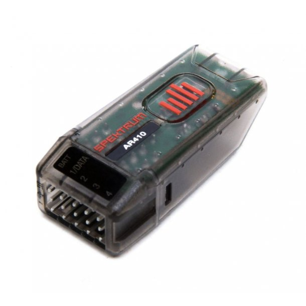 AR410- Spektrum DSMX™ 4-kanals modtager, 2,4GHz.
