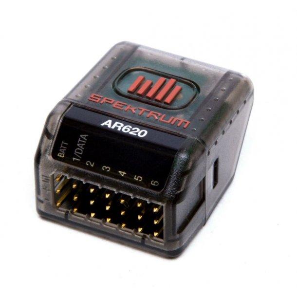 AR620- Spektrum DSMX™ 6-kanals modtager, 2,4GHz.