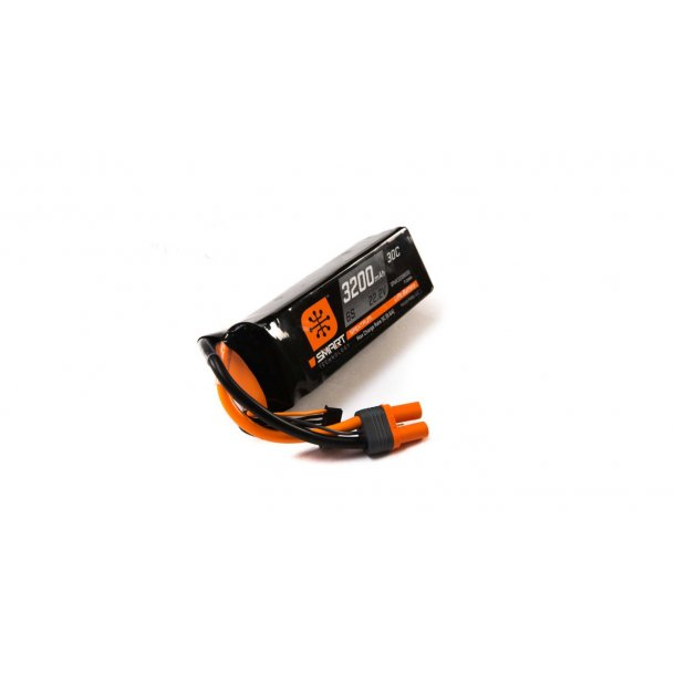 22.2V 3200mAh 6S 30C Smart LiPo Battery: IC5. BESTILLINGSVARE.