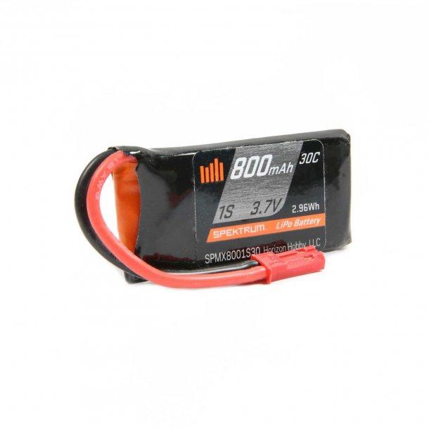 800mAh-1S Lipo batteri.