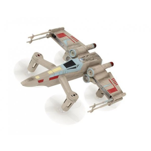 Star Wars T-65 X Wing Star Fighter Battling quadcopter Collectors Edition.