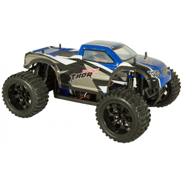 THOR 1/10 Elektrisk Monster Truck 4WD, Ready To Run.