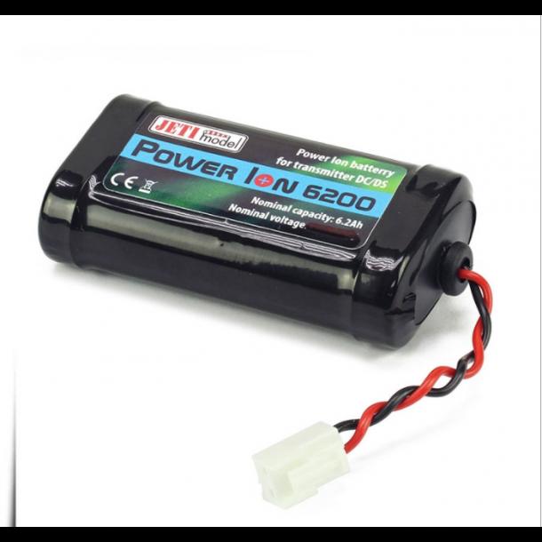 6200mAh LiIon batteri til Jeti sendere.