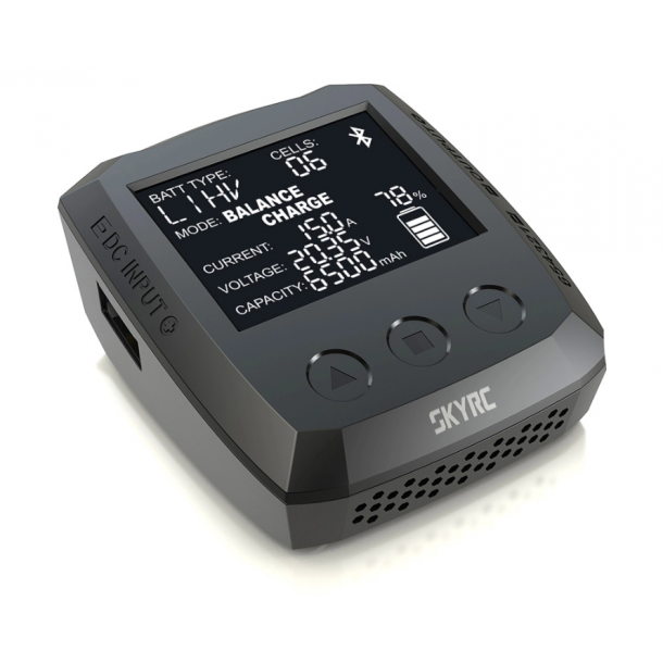 SkyRC B6 nano DC lader med 1 kanal, 1 x 320W.