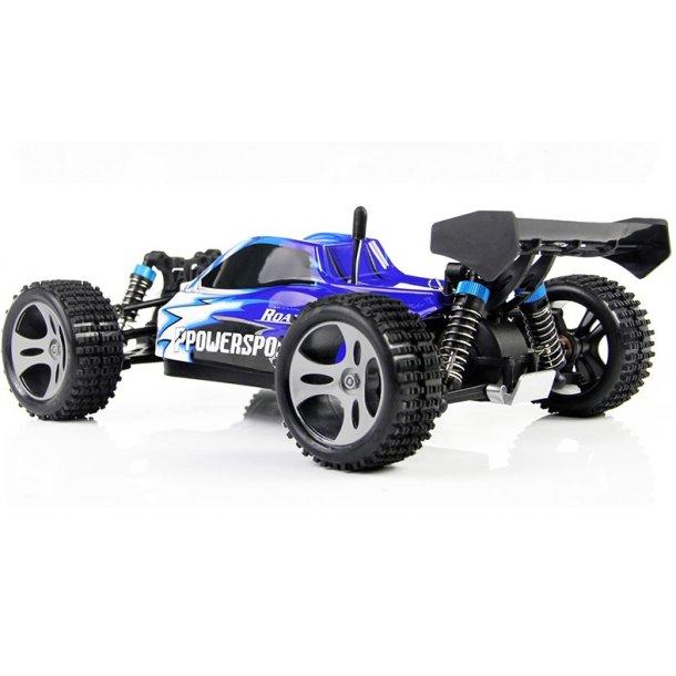 1:18 4WD High Speed Buggy, Blå, 50 km/h.