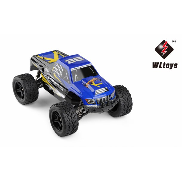 1:12 2WD High Speed Truggy, Blå.