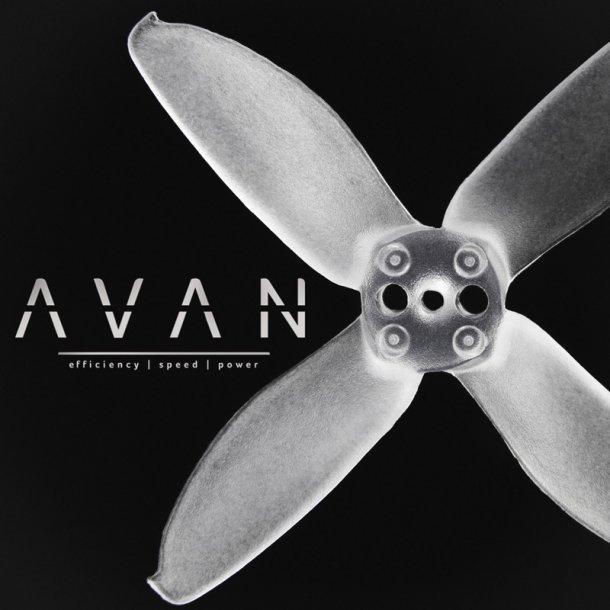 Avan-R 2 x 45 propeller, 2 stk. CW og 2 stk. CCW.