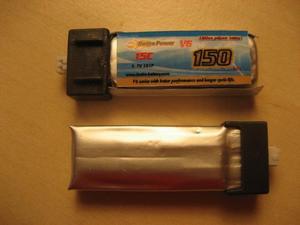 Diverse små LiPo batterier - RC-Netbutik