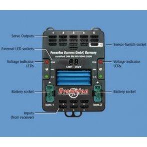 PowerBox og Dualsky S.Hub.