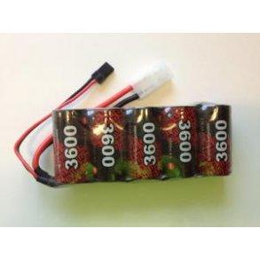NiMH modtager batterier