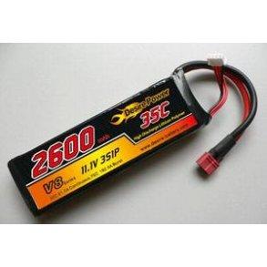 Batterier og LiPo poser
