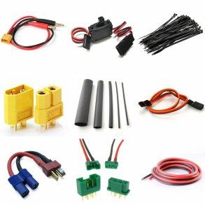 Stik, ledninger, flex, strips og kontakter