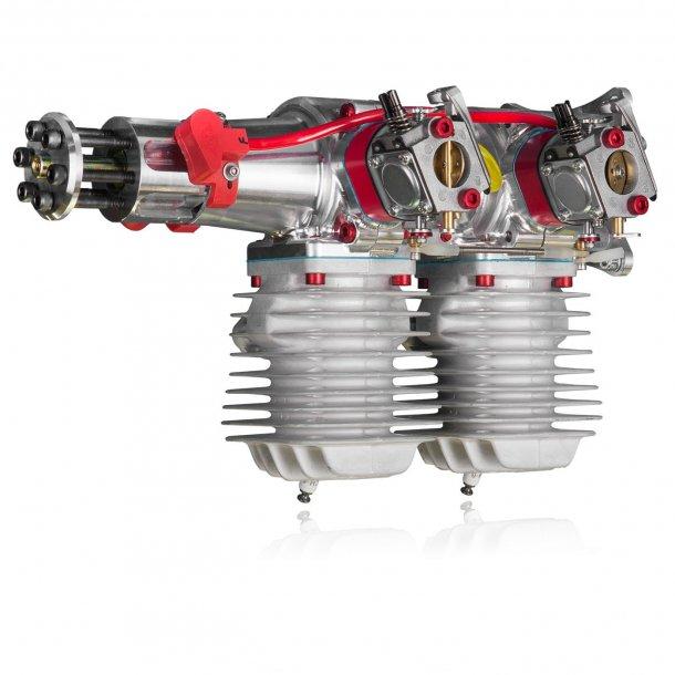 DA-100I bensinmotor med tænding.