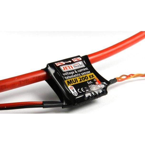 Jeti MUI-200 EX telemetri sensor.