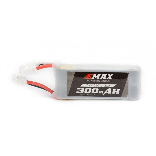 300mAh-2S LiPo batteri til Tiny Hawk-S FPV Quadcopter.