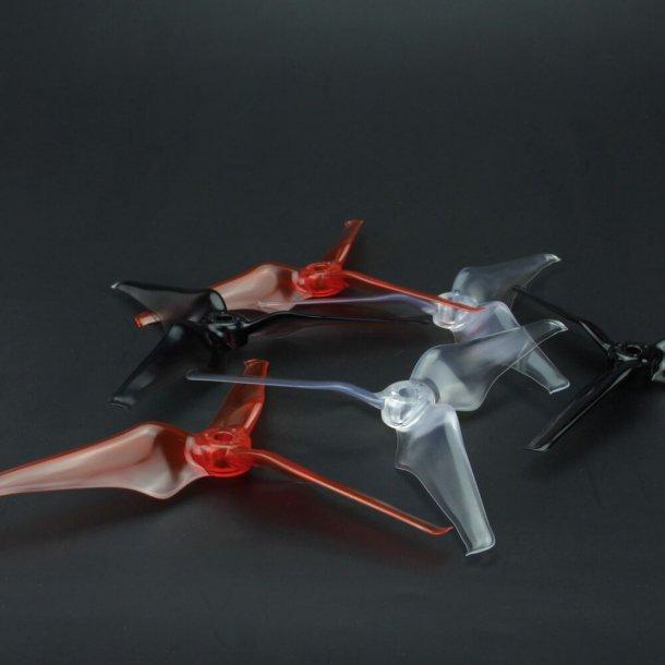 Avan Flow 5 x 4,3 3-bladet propeller, 2 stk. CW og 2 stk. CCW.