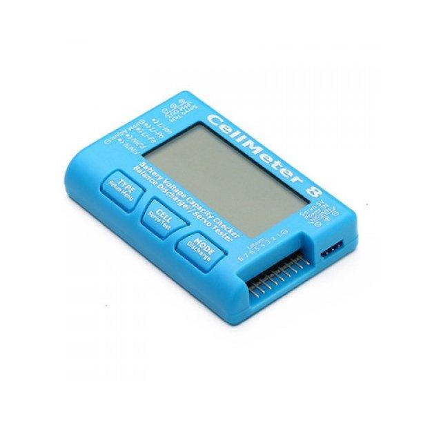 Batteri kapacitets analysator/balancer til 6S samt servotester.