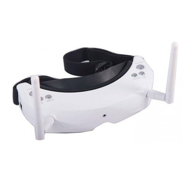Skyzone 02SV+ 3D video goggles med kamera og videosender.